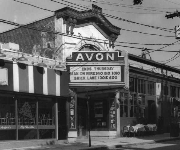 [Exterior of Avon Cinema]